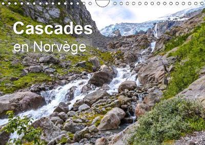 Cascades en Norvege 2019: spectacle naturel a voir absolument en Norvege - Calvendo Places (Calendar)