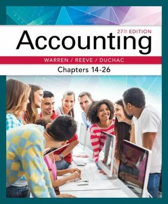 Accounting, Chapters 14-26 (Paperback)