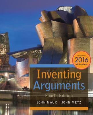 Inventing Arguments, 2016 MLA Update (Paperback)