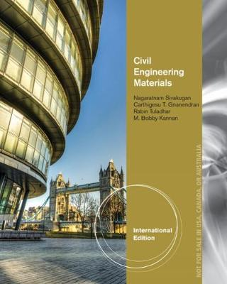 Civil Engineering Materials, International Edition (Paperback)