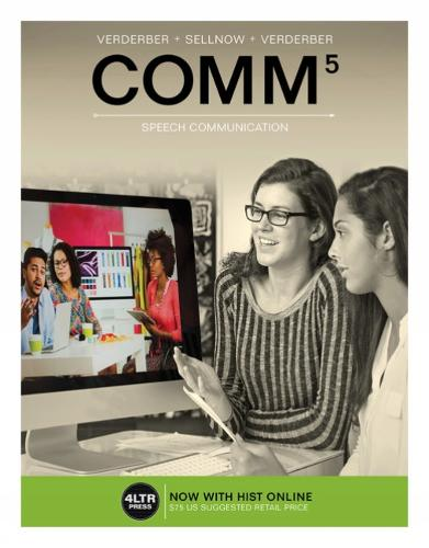 COMM (with COMM Online, 1 term (6 months) Printed Access Card)