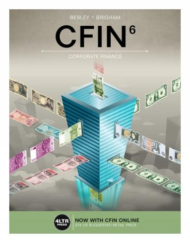 CFIN (with MindTap Finance, 1 term (6 months) Printed Access Card)