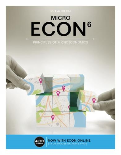 ECON MICRO (with MindTap, 1 term (6 months) Printed Access Card)