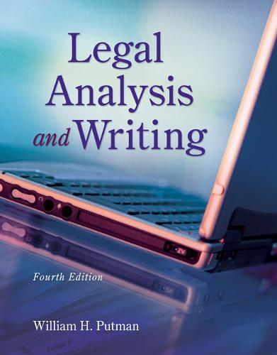 Legal Analysis and Writing, Loose-Leaf Version