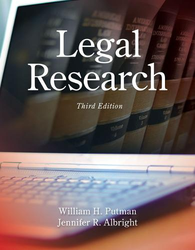Legal Research, Loose-Leaf Version