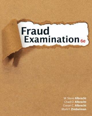 Fraud Examination (Hardback)
