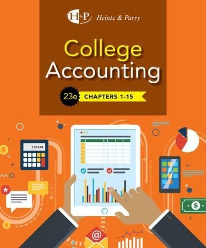 College Accounting, Chapters 1- 15 (Hardback)