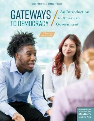Gateways to Democracy, An Introduction to American Government, Enhanced (Paperback)