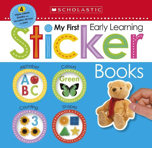 My First Sticker Box - Scholastic Early Learners (Paperback)