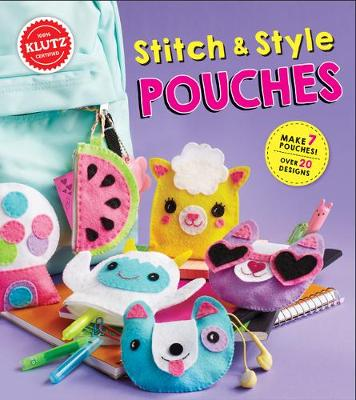 Stitch and Style Pouches - Klutz