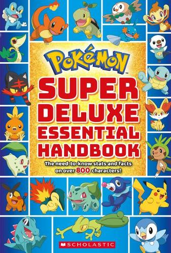 Pokemon: Super Deluxe Essential Handbook - Pokemon (Paperback)