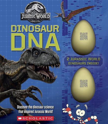 Dinosaur DNA: A Non-fiction Companion to the Films (Jurassic World) - Jurassic World