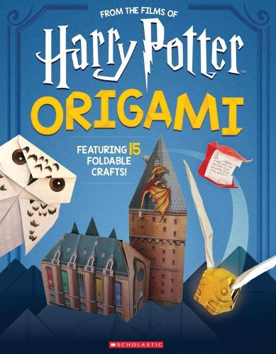 Origami: 15 Paper-Folding Projects Straight from the Wizarding World! (Harry Potter) - Harry Potter (Paperback)