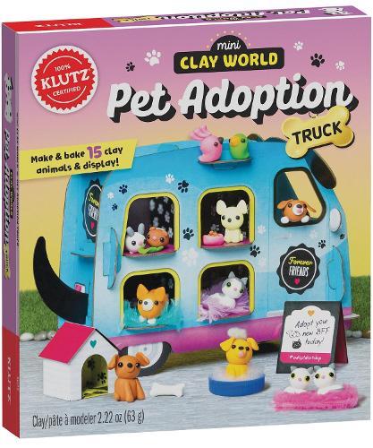 Mini Clay World Pet Adoption Truck - Klutz
