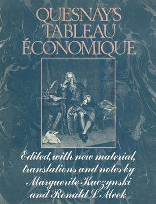 Quesnay's Tableau Economique 1972 (Paperback)