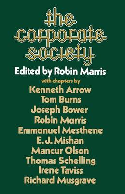 The Corporate Society (Paperback)