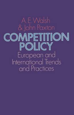 Competition Policy: European and International Trends and Practices (Paperback)
