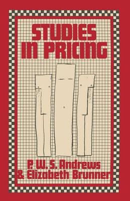 Studies in Pricing (Paperback)