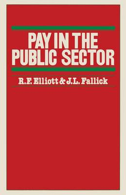 Pay in the Public Sector (Paperback)