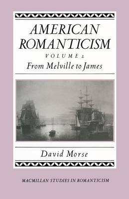 American Romanticism: From Melville to James-The Enduring Excessive - Studies in Romanticism (Paperback)