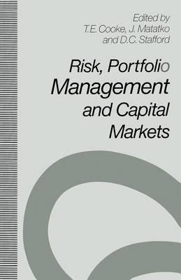 Risk, Portfolio Management and Capital Markets (Paperback)