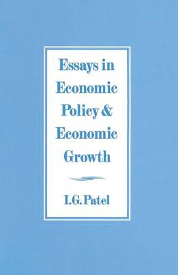 Essays in Economic Policy and Economic Growth (Paperback)