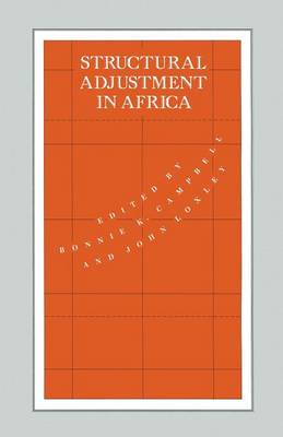 Structural Adjustment in Africa - International Political Economy Series (Paperback)