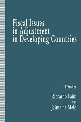 Fiscal Issues in Adjustment in Developing Countries (Paperback)