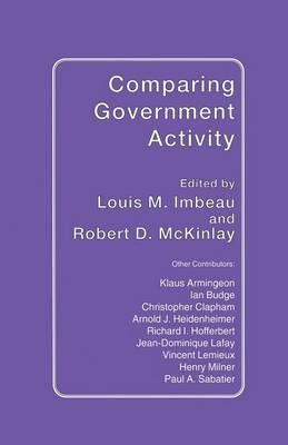 Comparing Government Activity (Paperback)