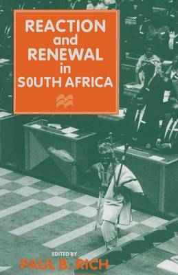 Reaction and Renewal in South Africa (Paperback)