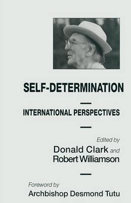 Self-Determination: International Perspectives (Paperback)