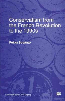 Conservatism from the French Revolution to the 1990s (Paperback)