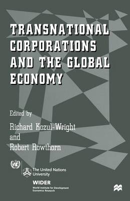 Transnational Corporations and the Global Economy (Paperback)