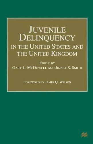 Juvenile Delinquency in the United States and the United Kingdom (Paperback)