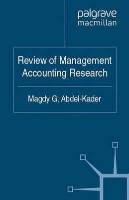 Management Accounting Research