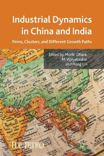 Industrial Dynamics in China and India: Firms, Clusters, and Different Growth Paths - IDE-JETRO Series (Paperback)