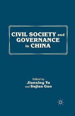Civil Society and Governance in China (Paperback)