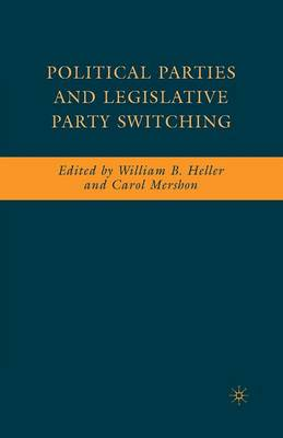 Political Parties and Legislative Party Switching (Paperback)