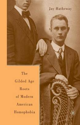 The Gilded Age Construction of Modern American Homophobia (Paperback)