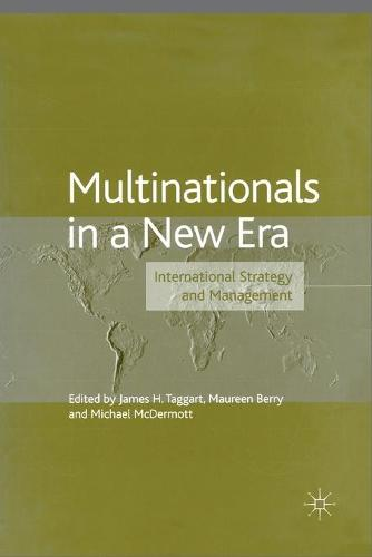 Multinationals in a New Era: International Strategy and Management - The Academy of International Business (Paperback)