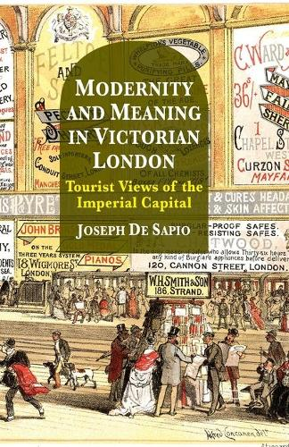 Modernity and Meaning in Victorian London: Tourist Views of the Imperial Capital (Paperback)