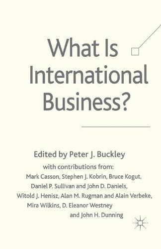 What is International Business? (Paperback)