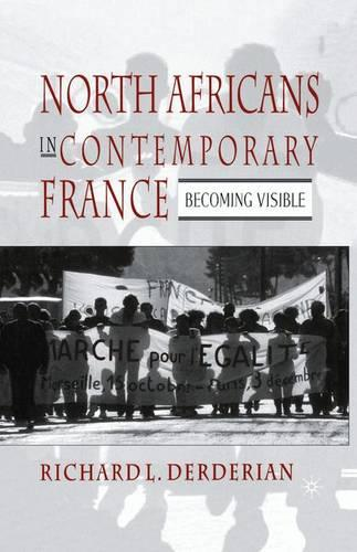 North Africans in Contemporary France: Becoming Visible (Paperback)