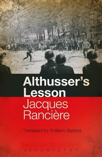 Althusser's Lesson (Paperback)