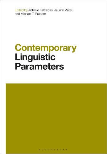 Contemporary Linguistic Parameters - Contemporary Studies in Linguistics (Paperback)