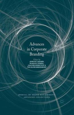 Advances in Corporate Branding - Journal of Brand Management: Advanced Collections (Hardback)