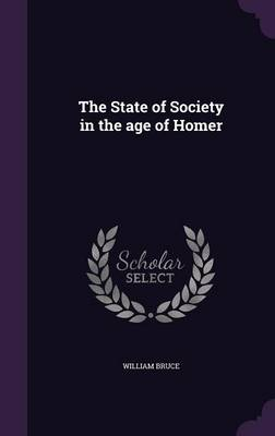 The State of Society in the Age of Homer (Hardback)