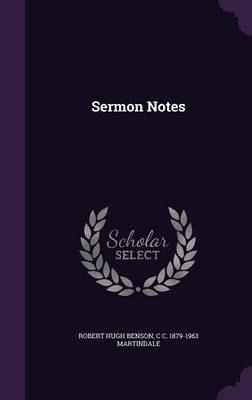 Sermon Notes (Hardback)
