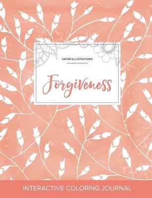 Adult Coloring Journal: Forgiveness (Safari Illustrations, Peach Poppies) (Paperback)