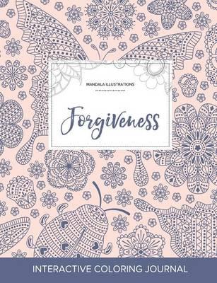 Adult Coloring Journal: Forgiveness (Mandala Illustrations, Ladybug) (Paperback)